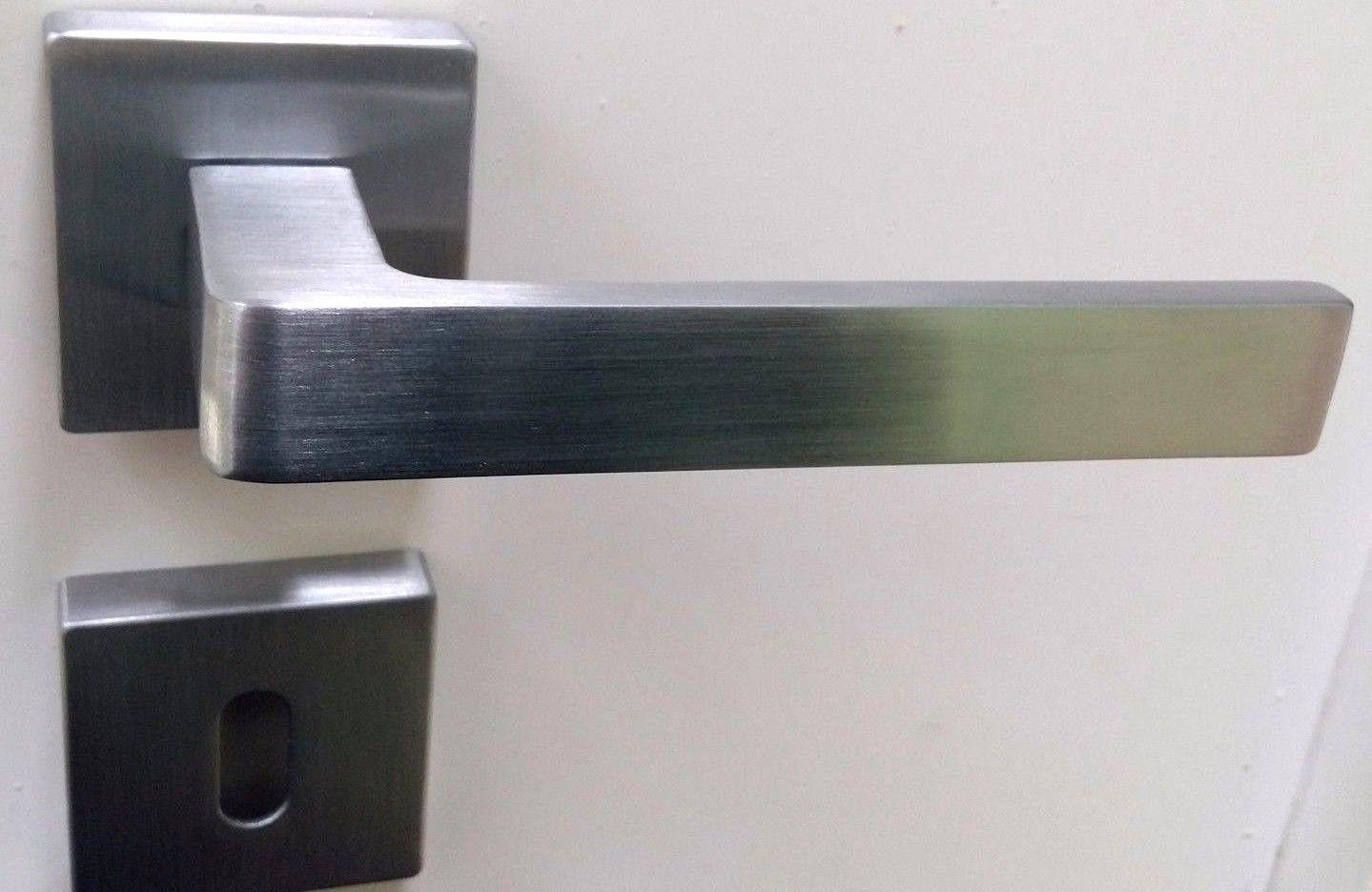 Migliori Maniglie Per Porte Interne maniglie per porte interne quadrate moderne cromo satinato