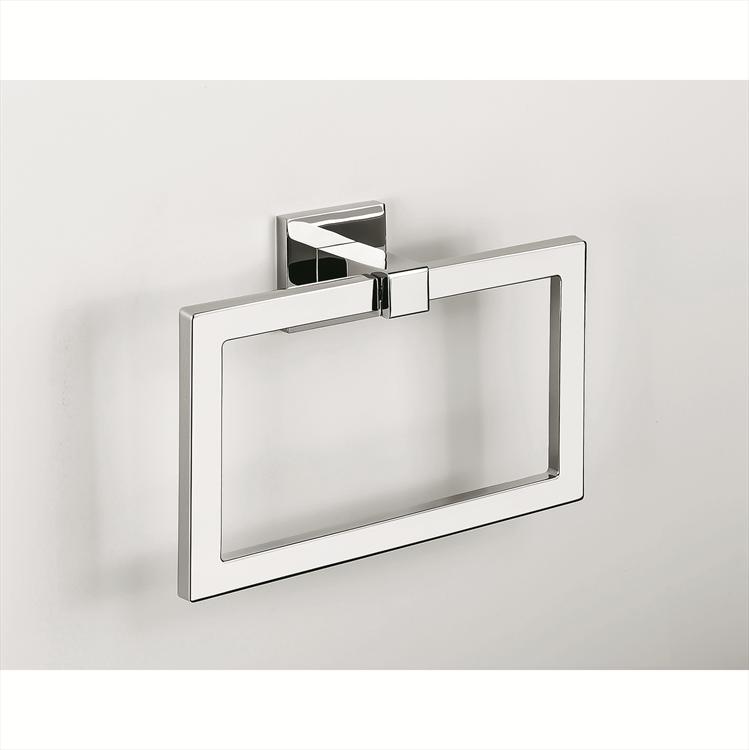 Accessori Per Bagno Colombo Design.Colombo Design Arredo Bagno Basic Q B3731 Porta Salvietta Ad Anello Cromo Maniglie Per Porte Interne